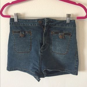 urban outfitters high waisted shorts