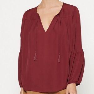 Joie Ezbeth Silk Blouse - size Medium