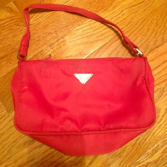 882be8ee prada red mini bag