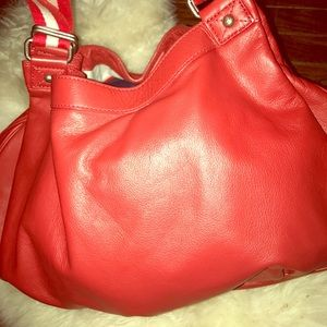 Vintage Marc Jacobs Red leather purse