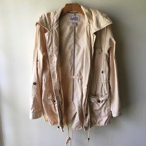 Gorgeous Blush Utility Jacket