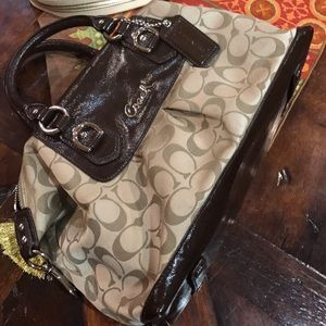 Coach Signature Satchel/Crossbody. Authentic