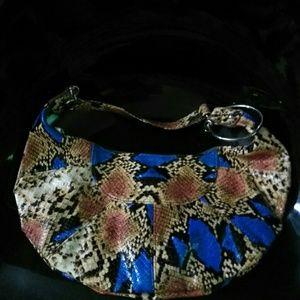 Handbags - NWOT Mini Snakeskin Handbag