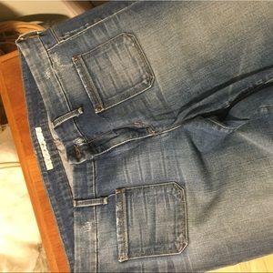 Joe's wide-leg jeans