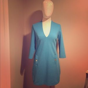 Lily Pulitzer medium blue dress!