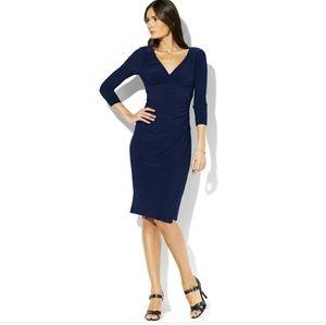 Ralph Lauren Navy Long Sleeve Dress
