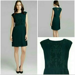 Ted Baker Saskiah Dress in Dark Green Sz 1 US 4