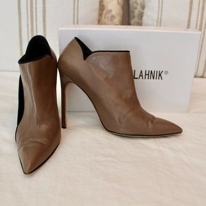 Manolo Blahnik Stiletto Ankle Booties