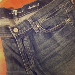 Seven 7 for All Mankind bootcut jeans