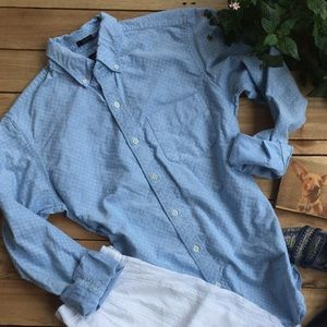 J Crew Light Blue Oxford Shirt