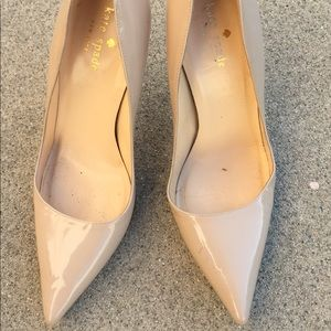Kate Spade Nude Sexy patent leather High Heels