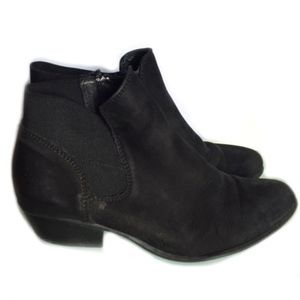 Steve Madden leather suede bootie