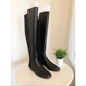 NWT Black Vince Camuto Over the Knee Boots