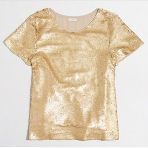 JCrew sequin T-shirt