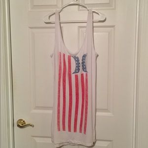 NWOT Hurley American Flag Coverup
