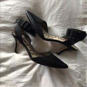 Sam Edelman Okala Kitten Heel With Ankle Strap