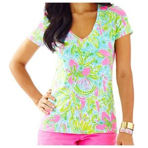 Lilly Pulitzer top. Size L. NWT