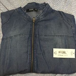 Soft jean jacket