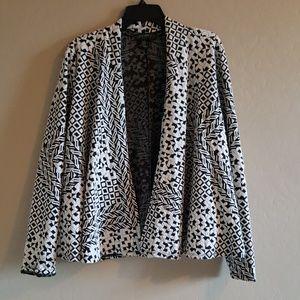 Forever 21 plus size blazer top