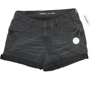 """Old Navy Boyfriend Denim Shorts 3.5"""" In. Size 2"""