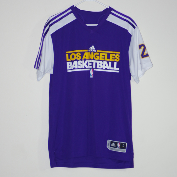 5882ec88391 ADIDAS Other - ADIDAS BRYANT LA LAKERS BASKETBALL JERSEY