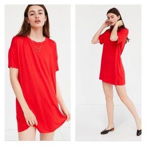 UO Silence + Noise Boxy T-shirt Dress