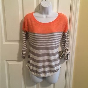 Striped Sweater - Size XS