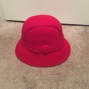 J Crew wool hat/cloche style
