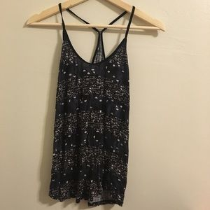 NWOT Urban Outfitters soft dark Y-Back tank