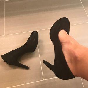 Rockport suede heels
