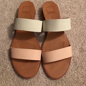 Dolce Vita slip on sandals