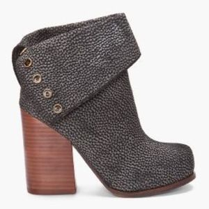 Jeffrey Campbell Brody Printed Ankle Booties
