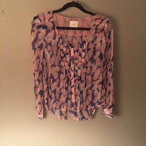 Anthropologie Maeve Blouse Size S