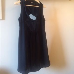 Dark blue Asos Satin Dress