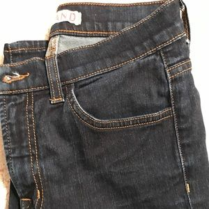 J Brand Capri dark denim jeans