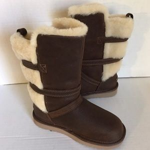 Girl youth uggs Glasgow Toas winter boots