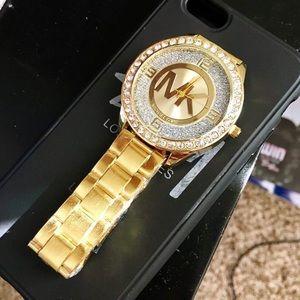 Michael Kors MK Watch Gold Women Designer