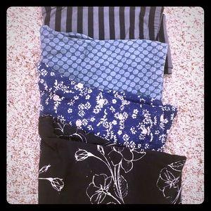 4 pairs of leggings