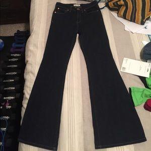 Madewell flea market flares 27 waist by 32 length