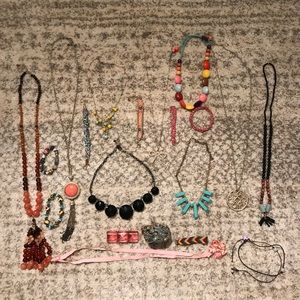 Jewelry lot! 20+pieces! J.crew anthropology 🎀