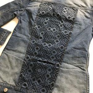 LuLaRoe Jaxon Jean jacket