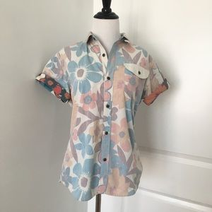 Floral Button Up Shirt