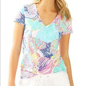 Lilly Pulitzer VNeck Shirt