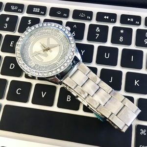 Michael Kor's MK Watch Silver Women Designer