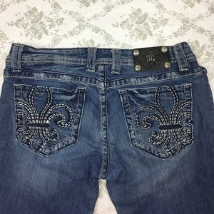 Miss me jeans sz 31 x 33 boot