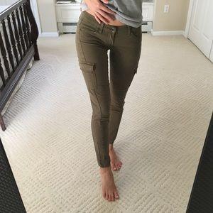 Lucky Brand Army Cargo Khaki Skinny Pants
