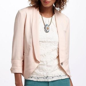 Anthropologie Cartonnier Miette Blazer Pink