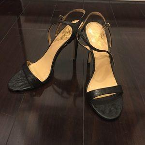 Black Fergie 4.75 inch Sandal