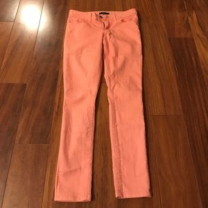 Coral Forever 21 jeans