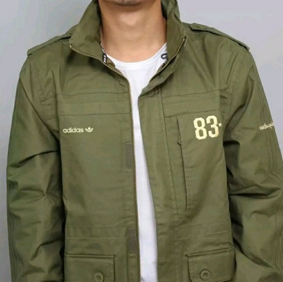 adidas field jacket
